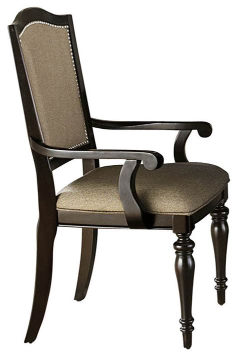 Marston Chair by Homelegance Marston Arm Chair With Neutral Tone Fabric