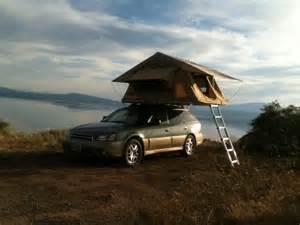 Subaru Roof Top Tent Subaru Outback Or Similar Towing An Expo Trailer