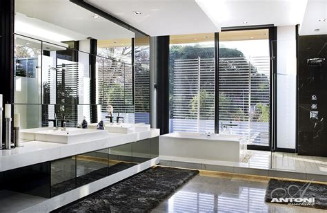 beautiful modern bathrooms modern mansion with interiors by saota