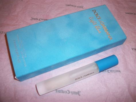 Dg Dolce Edp 74ml Purse Spray Perfume Original Parfum dolce gabbana light blue perfume edt mini spray handbag purse size