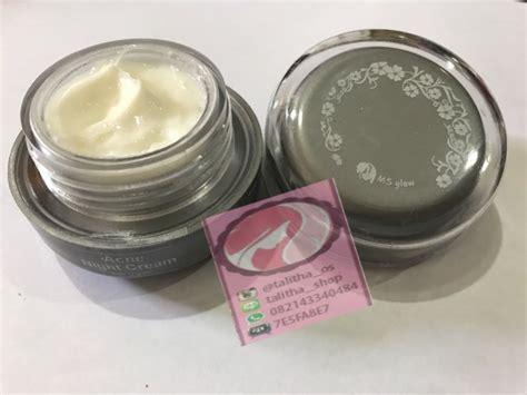 Acne Premium Ms Glow jual krim malam acne ms glow by cantik skincare acne