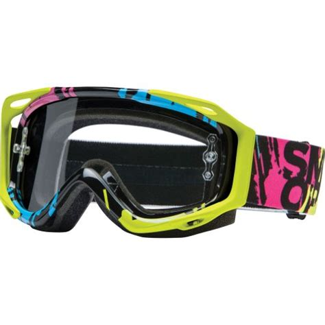 smith optics motocross goggles smith optics fuel v 2 sweat x r motocross goggles neon
