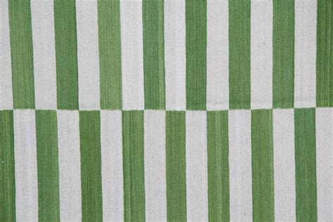 Striped Green Rug by Lime Green Striped Rug At 1stdibs
