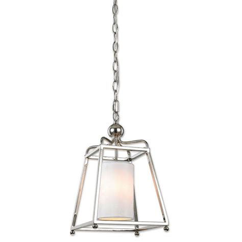 Decor Living Wagner 1 Light Polished Nickel Pendant 7501p Polished Nickel Pendant Lights