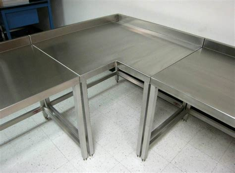 used stainless steel tables bitdigest design keep your kitchen clean with stainless steel