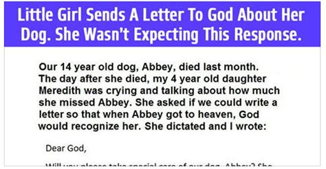 Response Letter To God A Wrote A Letter To God She Wasn T Expecting This Response Viralslot