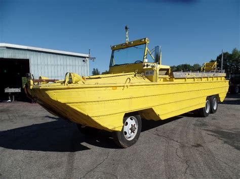 used duck boat motors for sale d u k w duck boat 1943 for sale for 57 000 boats from