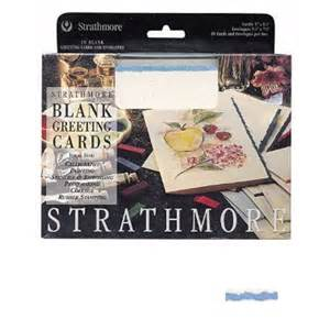 strathmore strathmore blank greeting cards deckle edge white with blue deckle pricefalls
