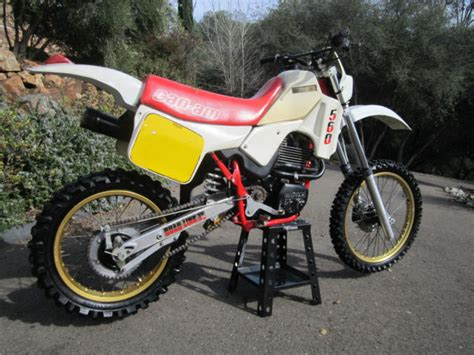 can am motocross bikes vintage can am sonic 560 ultra enduro motocross