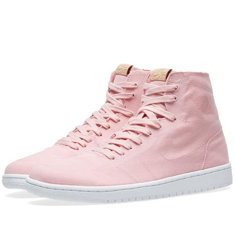Nike Air High Tosca Pink nike nike air 1 retro high decon in pink lyst
