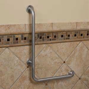 pickens l shape grab bar bathroom