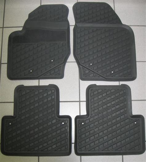new volvo xc90 s80 xc70 s60 rubber floor mats trays ebay