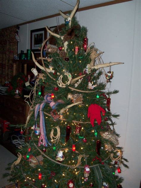 cowboy christmas tree country christmas pinterest
