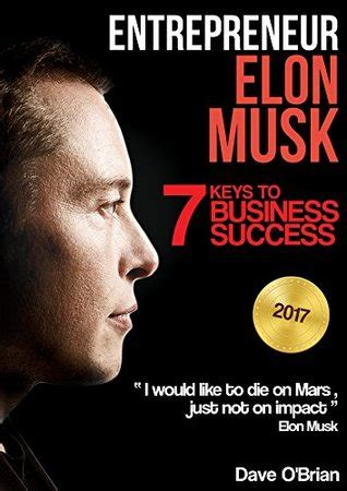 elon musk the lessons for success books entrepreneur elon musk by dave obrian p2p releaselog