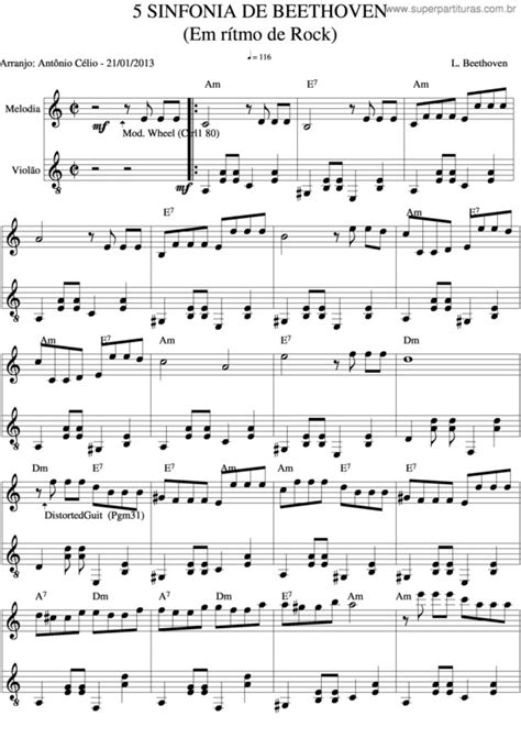 beethoven 9 sinfonia piano partituras 5a sinfonia de beethoven ludwig