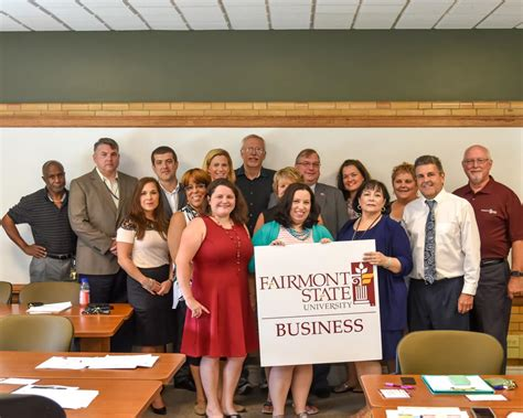 Fairmont State Mba by School Of Business School Of Business Fairmont State