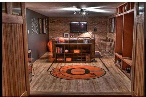 basketball themed room basketball themed cave beautiful caves