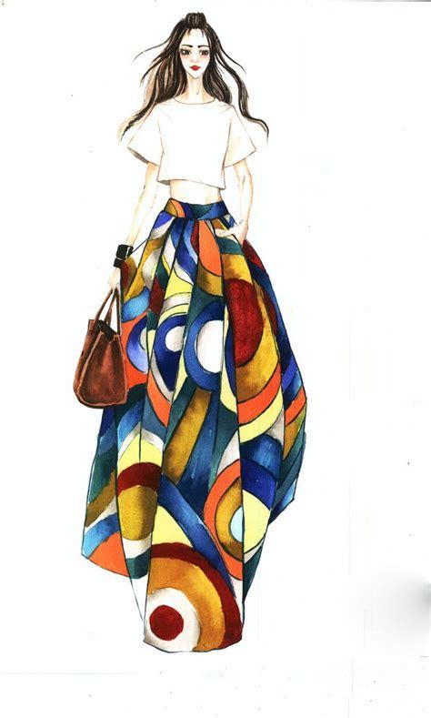 imagenes de uñas fashion las 25 mejores ideas sobre ilustraciones de moda en
