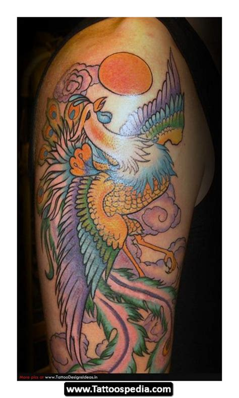 tattoo meaning phoenix phoenix tattoo design idea meaning 16