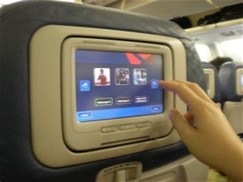 delta flight entertainment image gallery in flight entertainment systems