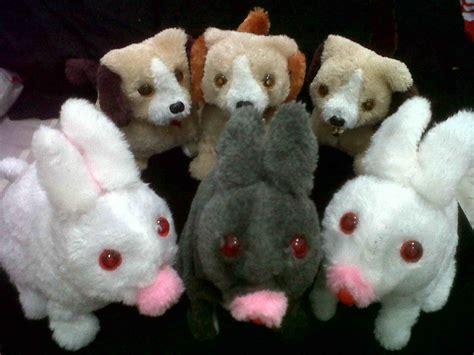 Mainan Boneka Gigit Anjing Model Binatang boneka anjing gerak jasasulap