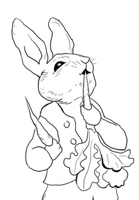 coloring pages of brer rabbit peter rabbit coloring pages and rabbit on pinterest