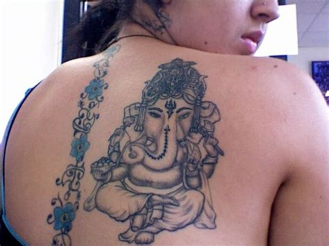 elephant god tattoo hindu popular hindu god tattoos ganesha
