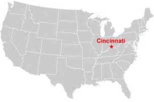 cincinnati in us map satellite images of united states cities landsat