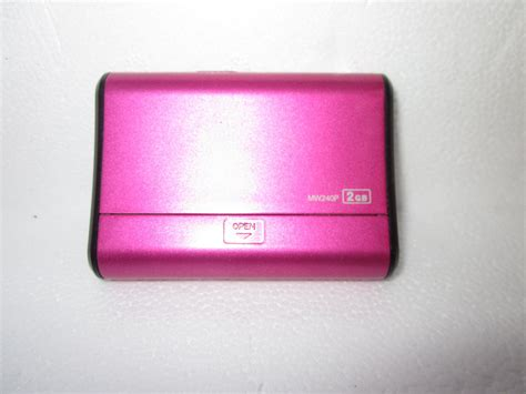 pink mp3 gpx mw240p hot pink 2 gb digital media player ipods