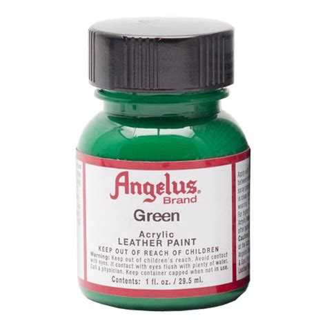 angelus paint 1 buy angelus leather paint 1 oz green