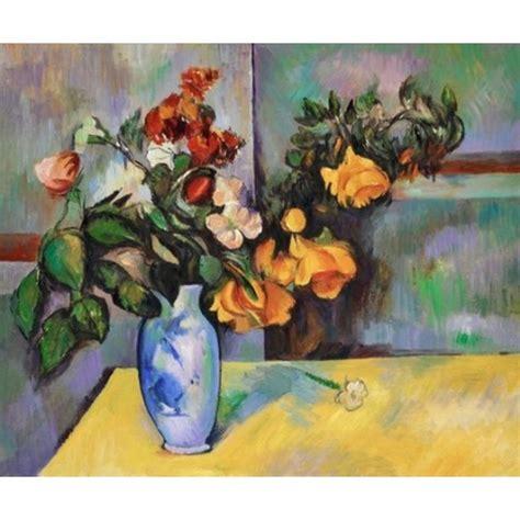 Franz Vase Quot Still Life Flowers In A Vase Quot By Paul Cezanne Oil
