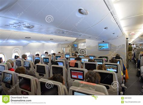 airbus a380 interni emirates a380 800 interior editorial photo image of