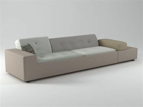 polder sofa polder sofa 3d model vitra
