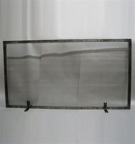 made simple fireplace screen by the velvet hammer