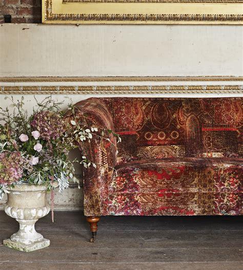 lomond velvet multi fabric bohemian velvets mulberry