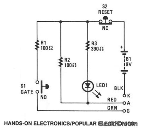 testing scr diode scr tester measuring and test circuit circuit diagram seekic