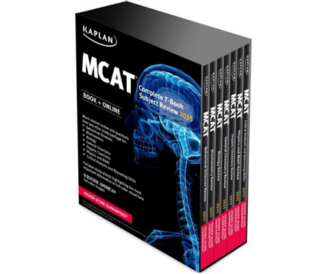 7 Book Series I 2 by Kaplan Mcat Book Review Complete 7 Book Subject Review
