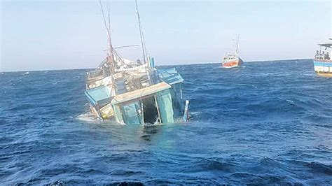 fishing boat accident nj two fishing boats collide with ships daily news