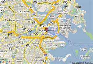 map of boston harbor hotel boston
