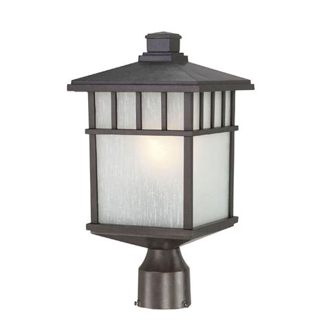 Outdoor L Post Lighting 16 1 2 Inch Mission Outdoor Post Light 9116 34 Destination Lighting
