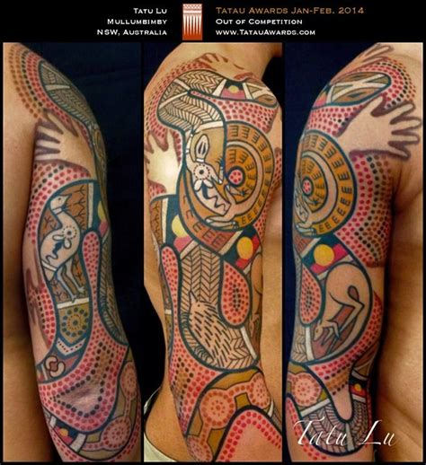 tattoo designs australia aboriginal on