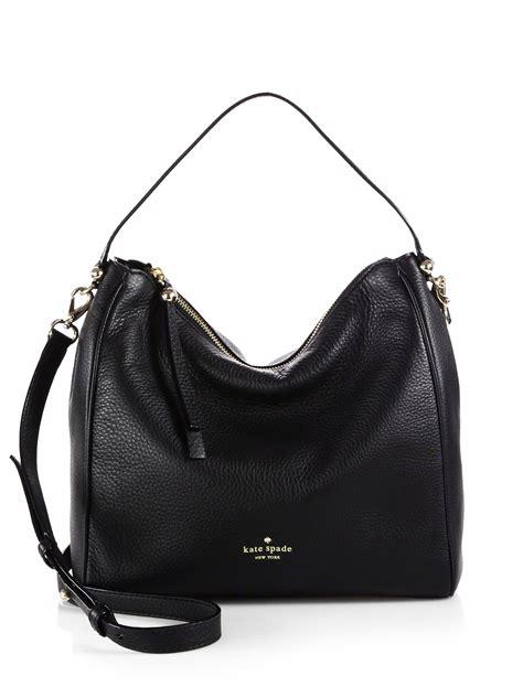 Jam Kate Spade Authentic 1 lyst kate spade new york charles shoulder bag in black