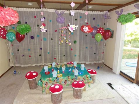 how to decorate a birthday party at home fairy birthday party decorating ideas home party ideas