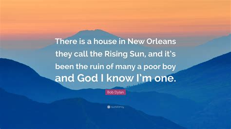 there is a house in new orleans there is a house in new orleans