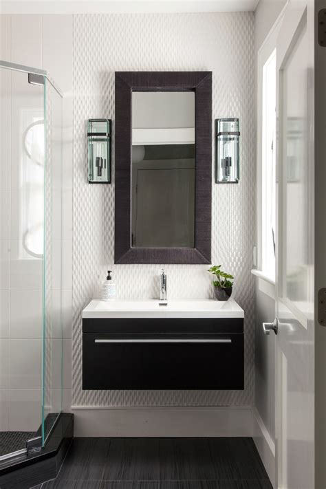 narrow bathroom mirrors narrow mirror with neutral colors bathroom traditional and glass multiuse mosaic tiles