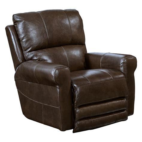 catnapper lay flat recliner catnapper hoffner leather power lay flat recliner jet com