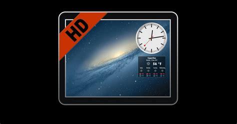 wallpaper for mac with clock living wallpaper hd live desktop uk weather forecast