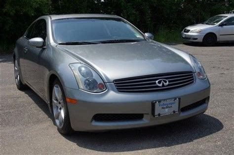 infiniti g35 stats purchase used 2005 infiniti g35 coupe in newton new