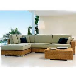 point golf sectional wicker outdoor sofa modular modern