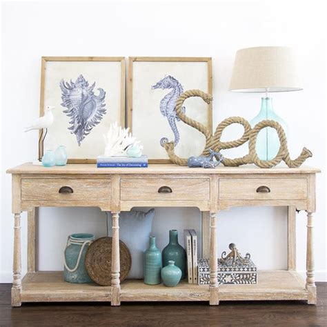 coastal decor table 20 coastal decorating ideas with rope crafts home design